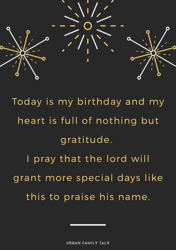 Today is my birthday and my heart is full of nothing but gratitude. I pray that the lord will grant more special days like this to praise his name.
