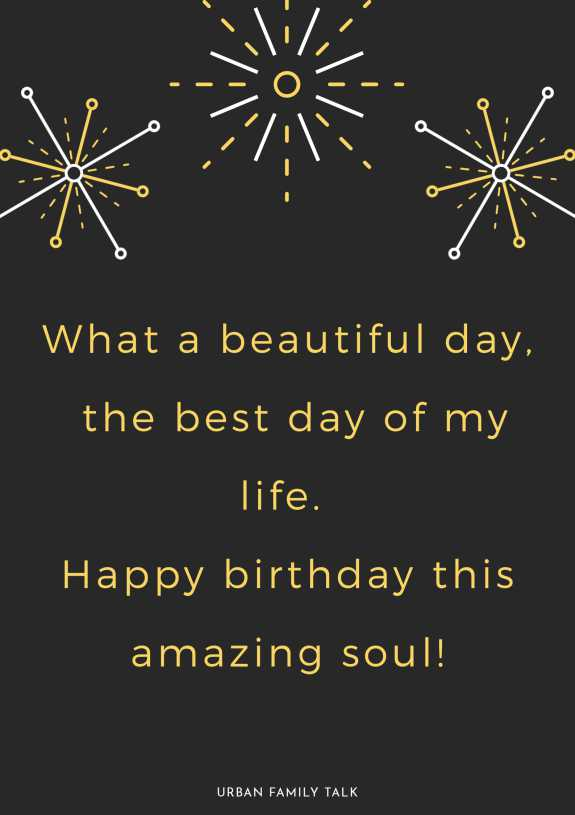 What a beautiful day, the best day of my life. Happy birthday this amazing soul!