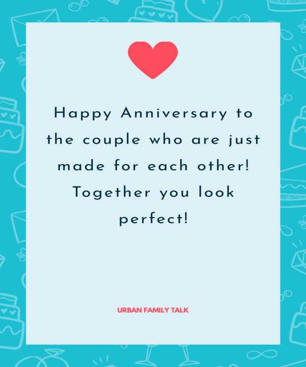 Happy Anniversary to the couple who are just made for each other! Together you look perfect!