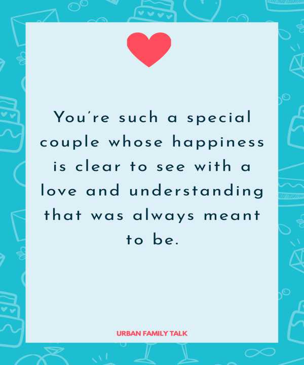 You're such a special couple whose happiness is clear to see with a love and understanding that was always meant to be.