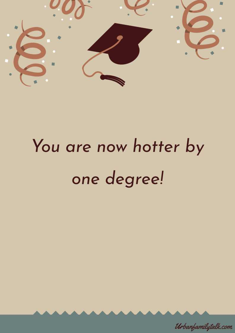 You are now hotter by one degree!