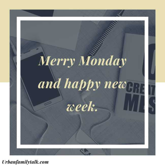Merry Monday and happy new week.