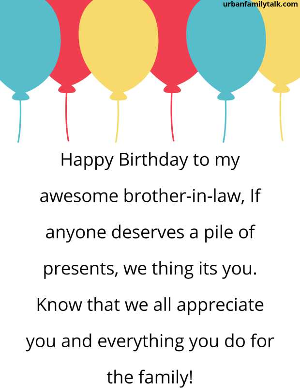 Happy Birthday brother-in-law, Another year, Another journey, I can't wait to see what the future holds for you.