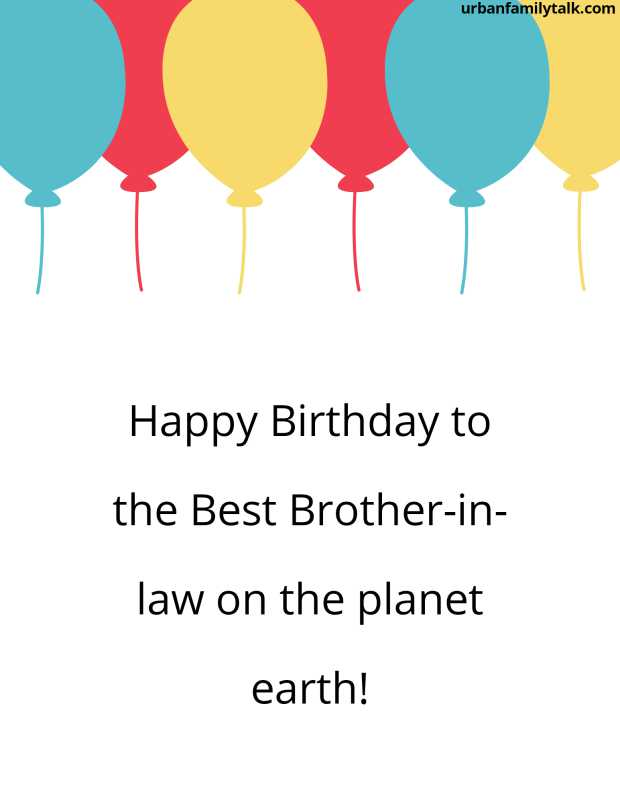 Happy Birthday to the Best Brother-in-law on the planet earth!