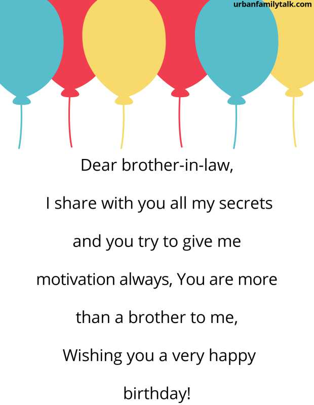 My Brother-In-Law, I wish you that all of your dreams come true and may you reach all success in life. Happy Birthday!