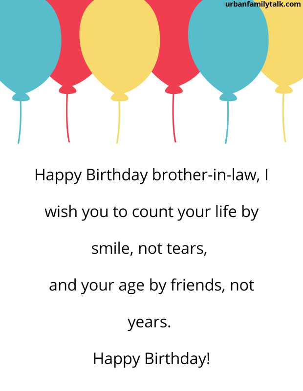 Dear brother-in-law, I share with you all my secrets and you try to give me motivation always, You are more than a brother to me, Wishing you a very happy birthday!