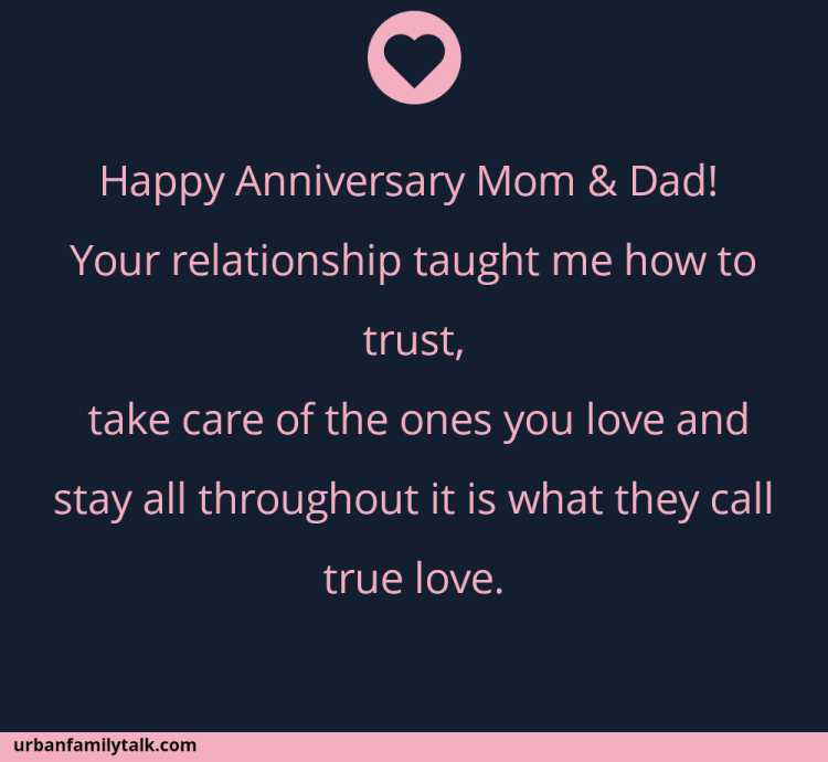 Happy Anniversary Mom & Dad! Your relationship taught me how to trust, take care of the ones you love and stay all throughout it is what they call true love.