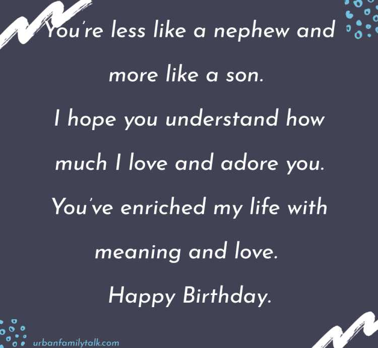 I love you as much as you'd love the WII, Play station, iPad, Xbox And iPhone All Put Together. Happy Birthday Nephew!