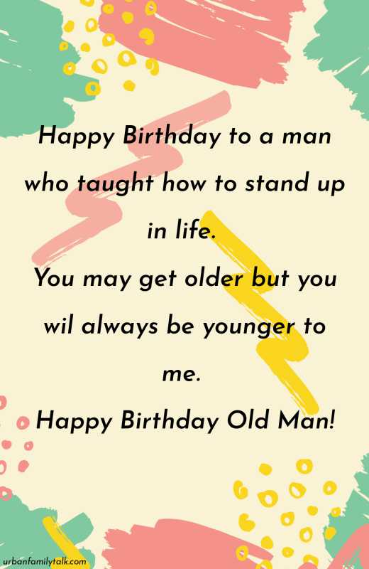 I was going to make a Joke to mark your birthday, but the fact you are still alive is nothing short of a Miracle and should be celebrated. Happy Birthday Old Man!