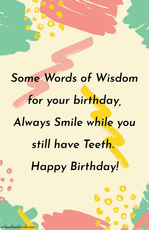 Happy Birthday Old Man! Wishing you a beautiful day and many blessing for the year ahead.