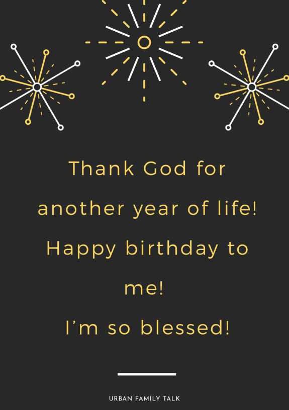 Thank God for another year of life! Happy birthday to me! I'm so blessed!