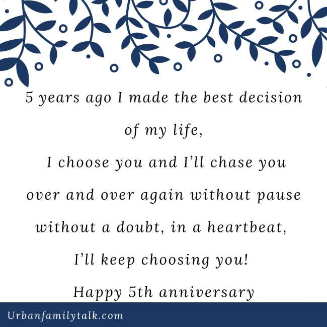 5 years ago I made the best decision of my life, I choose you and I'll chase you over and over again without pause without a doubt, in a heartbeat, I'll keep choosing you! Happy 5th anniversary <3