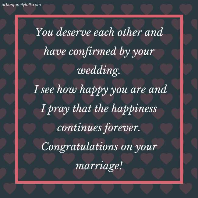 Wishing you and your wife a joy and convenient fruitful union. Congratulations on your wedding. May God be with you!
