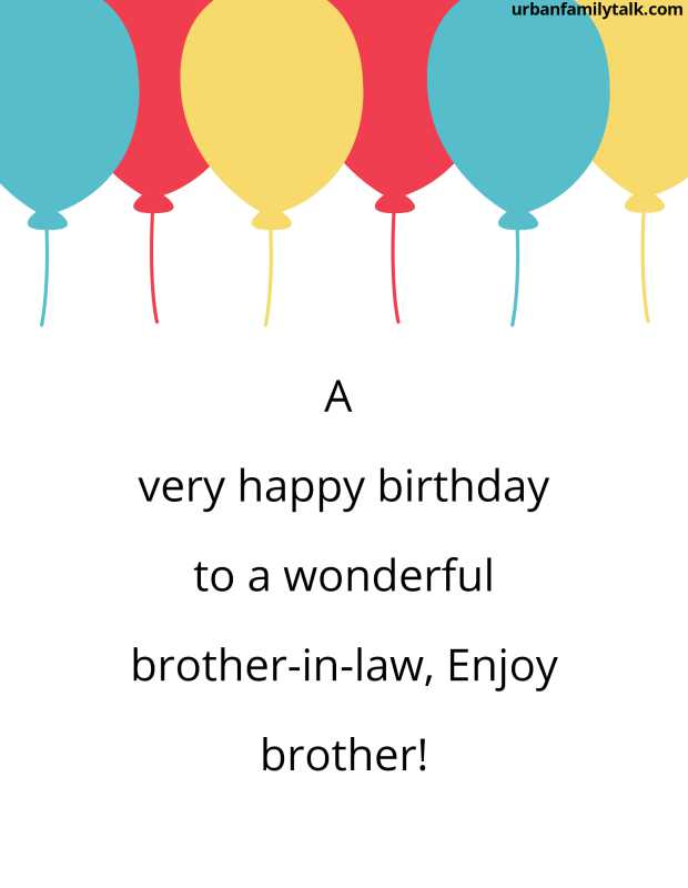 A very happy birthday to a wonderful brother-in-law, Enjoy brother!
