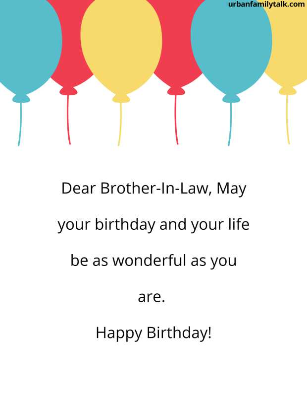 Do you know why I hate birthday greetings? because I always have to tell a bunch of lies. Oh by the way, Dear brother-in-law, you are so sweet, You are the sweetest man I have ever met. Happy Birthday!