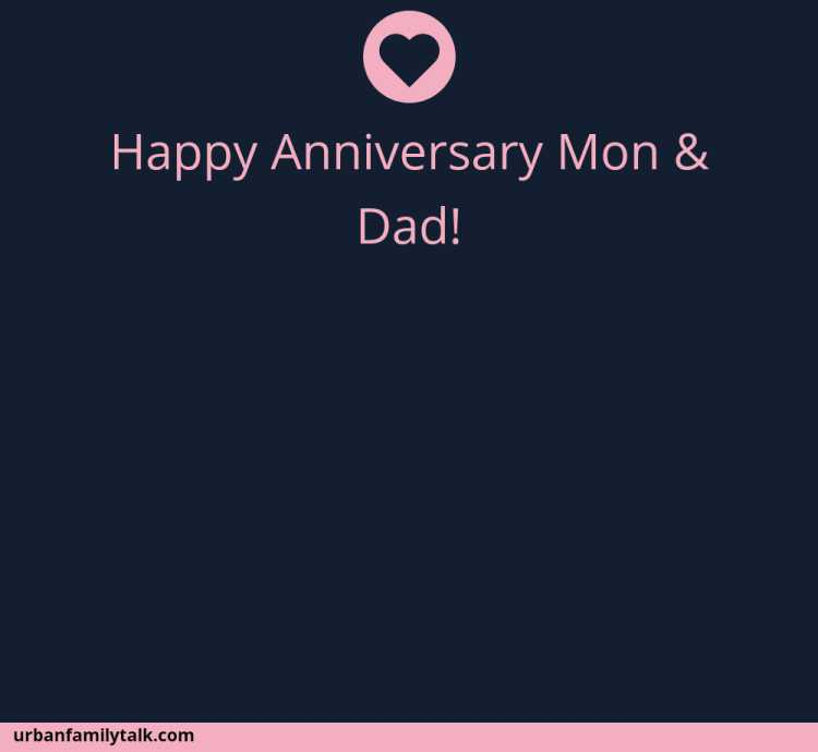 Happy Anniversary Mon & Dad!