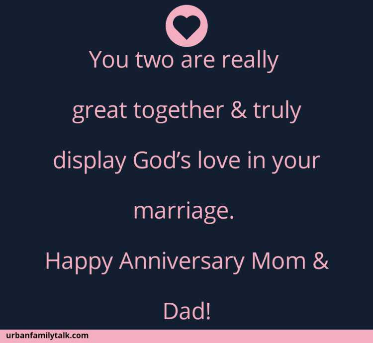Happy Anniversary to two wonderful Parents!