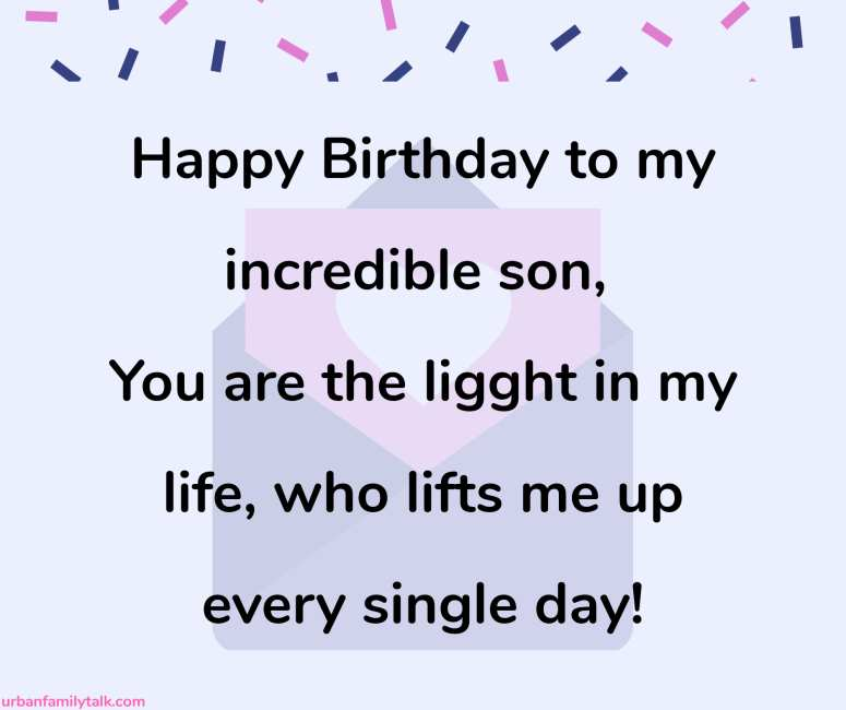 Happy Birthday to our Biggest joy and our greatest pride. I love you my boy! Happy Birthday!
