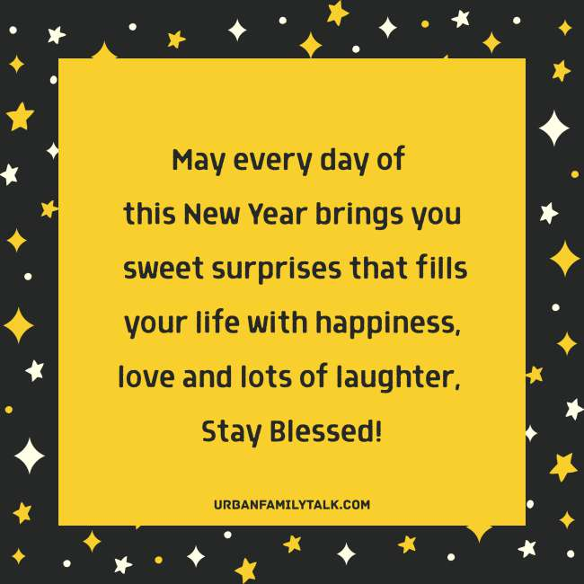 May this year you receive everything you've patiently been waiting for... Wishing you Happy New Year!