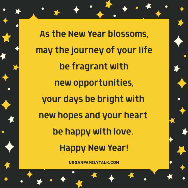 I Wish you in this new year to remain happy and joyful, and to be successful in all phases of life.