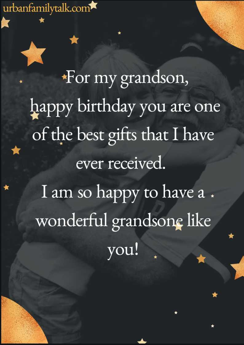 Grandson, you are ever so lovable! Happy birthday!
